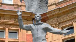 Londýn, socha, Greenwich, Jurij Gagarin