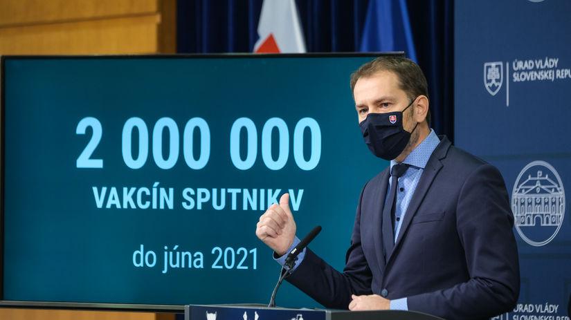 Matovič, Sputnik V,