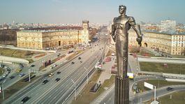 Moskva, socha, Jurij Gagarin