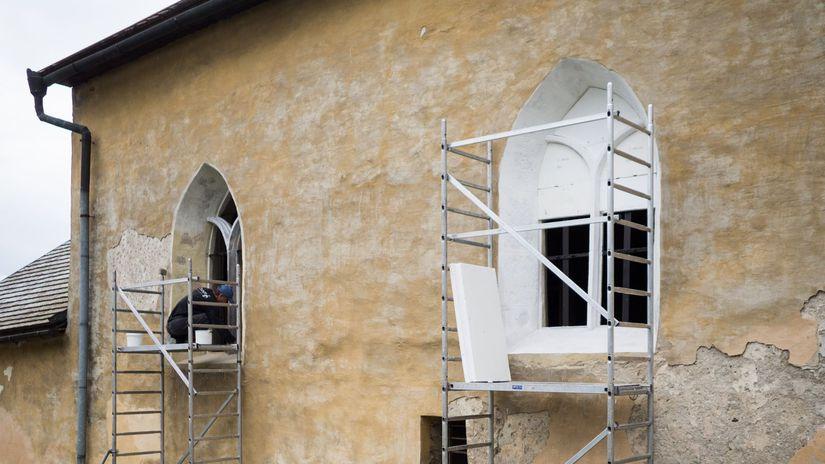 ochtinsky kostol obnova oz goticka cesta gemer