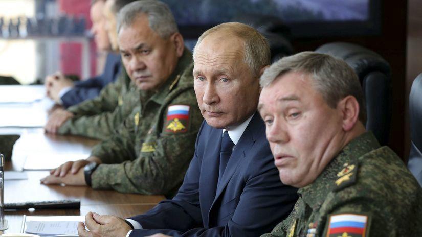 Valerij Gerasimov / Vladimir Putin / Sergej...