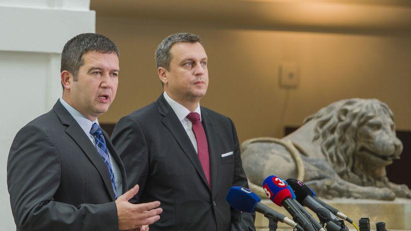 Jan Hamáček / Andrej Danko /