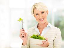 penzistka, zdravá strava, žena, šalát