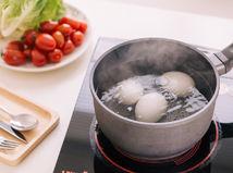 vajce, vajcia, voda, hrniec, varenie