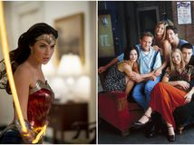 wonder woman, friends,