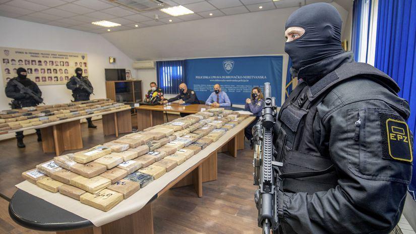 drogy chorvátsko kokaín