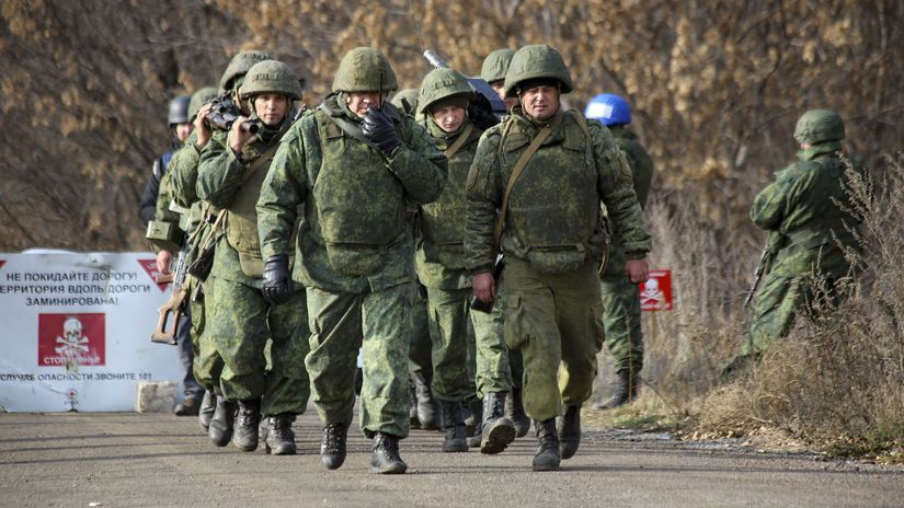 rusko separatisti vojaci