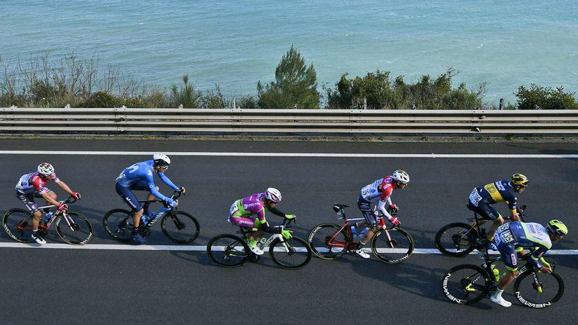 Italy Cycling Milan Sanremo