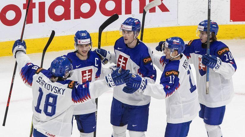 Kanada Hokej MS20 štvrťfinále USA Slovensko