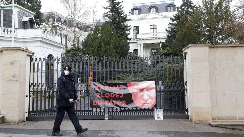 česko ambasáda veľvyslanectvo praha