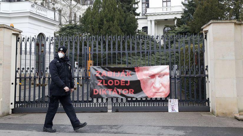 ČR Rusko ambasáda zamestnanci vyhostenie