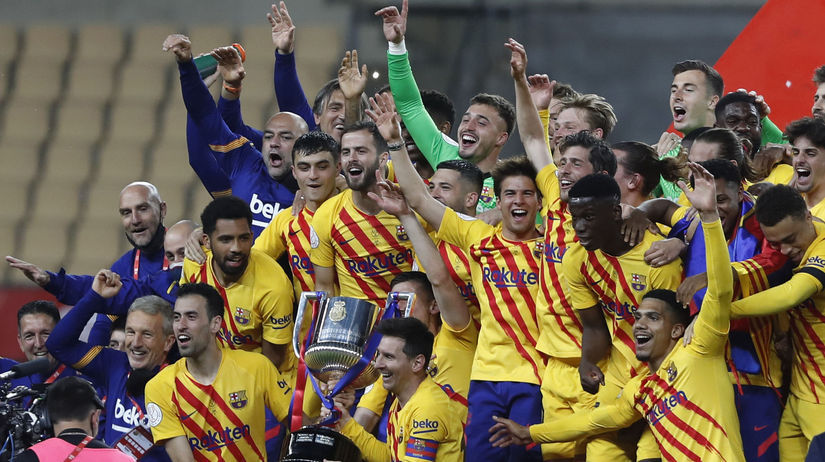 Spain Soccer Copa del Rey Final Barcelona Messi