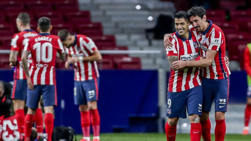 Španielsko futbal La Liga 28. kolo Atlético