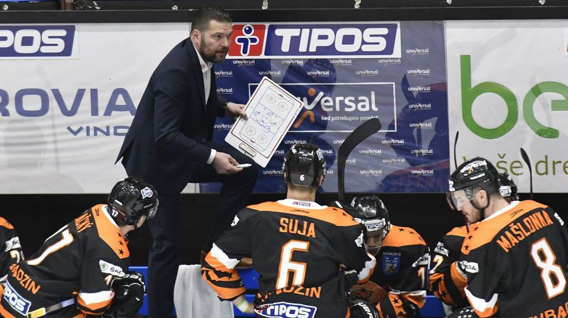 SR Hokej TEL 1/2 1. Michalovce Poprad Valtonen