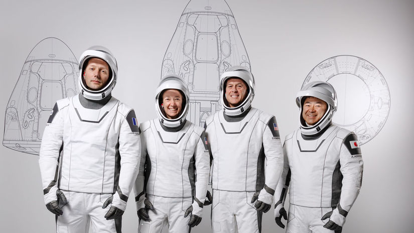Posadka Crew Dragon  foto NASA