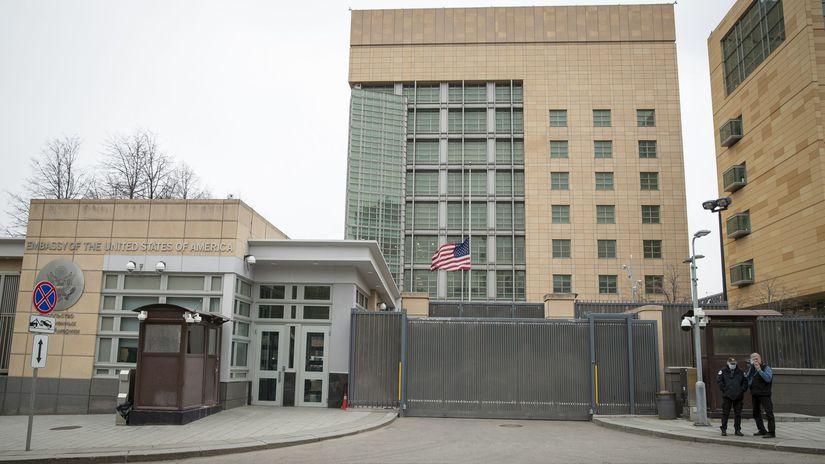 ameriská ambasáda moskva