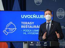 Slováci získajú viac slobody. Otvoria sa terasy a posilňovne