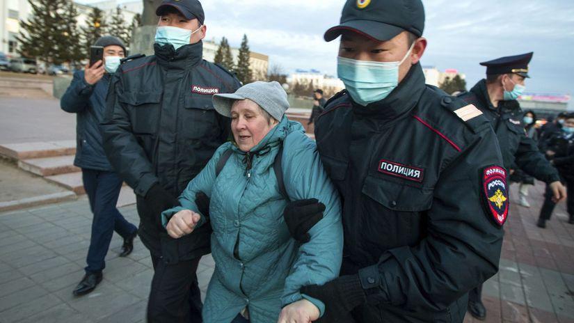 navaľnyj rusko demonštrácia