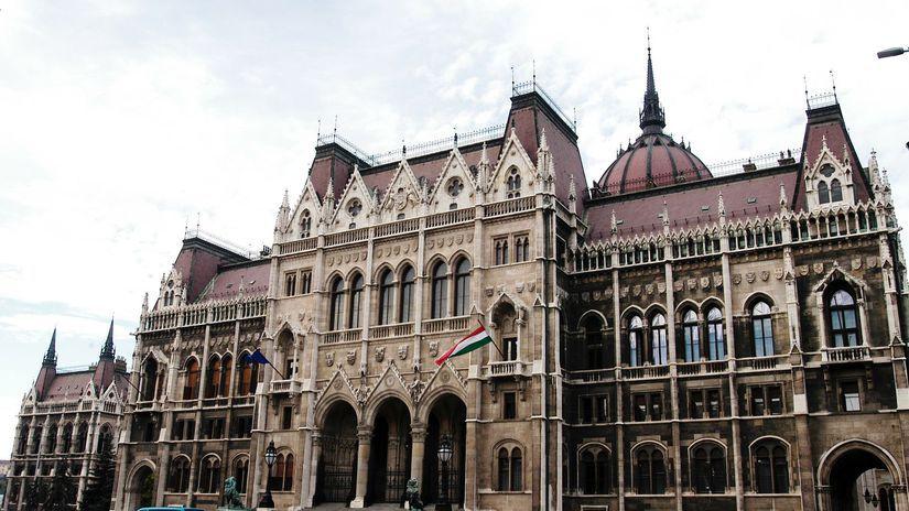 budapešť maďarsko parlament
