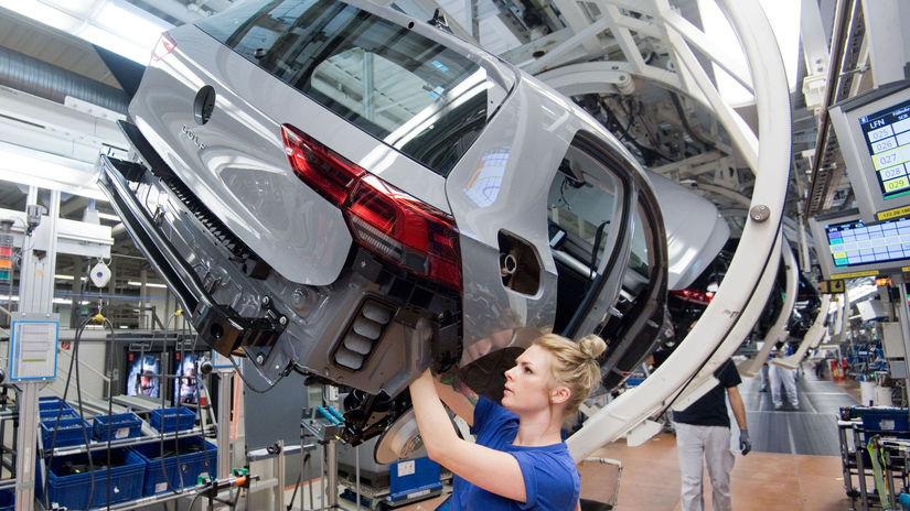 Volkswagen, VW, predaj áut