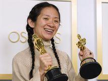 Chloé Zhao Oscar Ceny Odovzdávanie