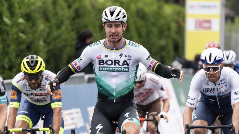 Švajčiarsko cyklistika Okolo Romandie 1. etapa...