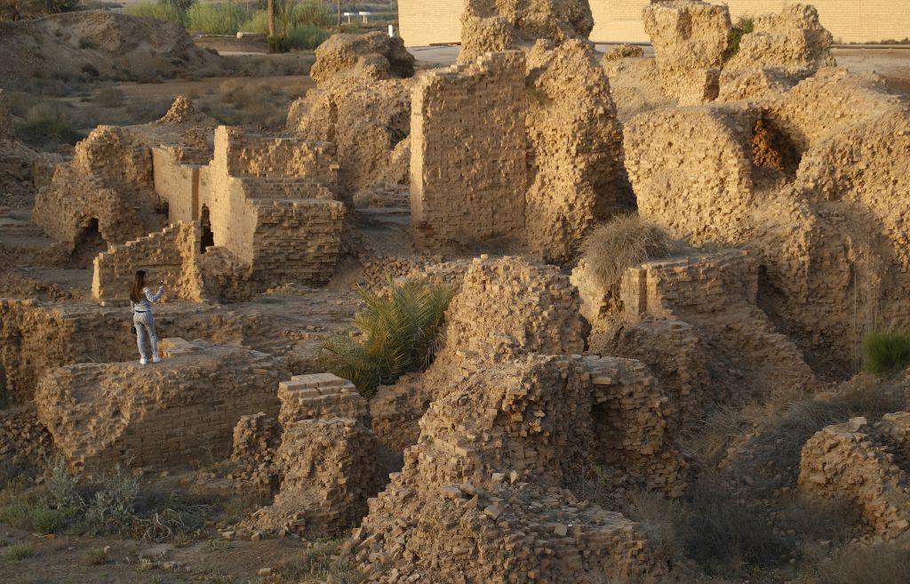 Irak, archeologické nálezisko, Babylon