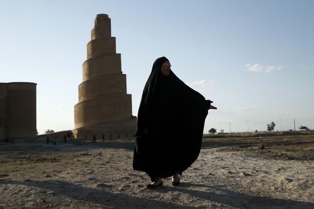 Irak, moslimka, mešita