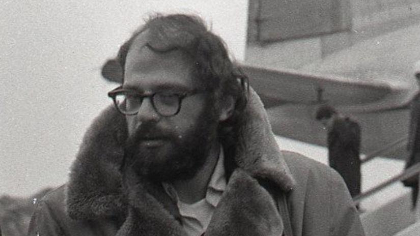 Allen Ginsberg, Bratislava, básnik