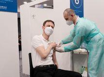 Eduard Heger, očkovanie