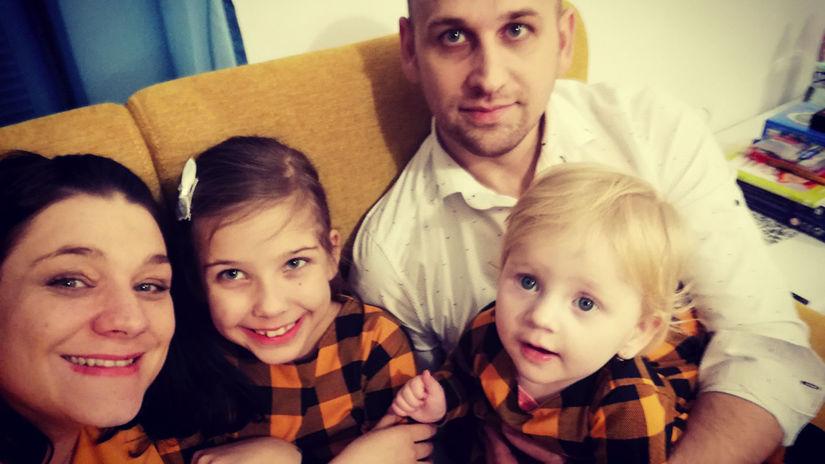 Chlebodarca, Billa, Angelmanov syndróm, rodina