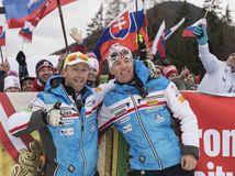 Rakúsko SR Alpské Lyžovanie Slalom Magoni