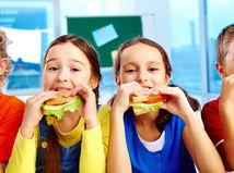 školáci, deti, desiata, olovrant, zdravá výživa