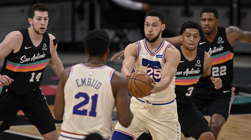 76ers Spurs Basketball Simmons