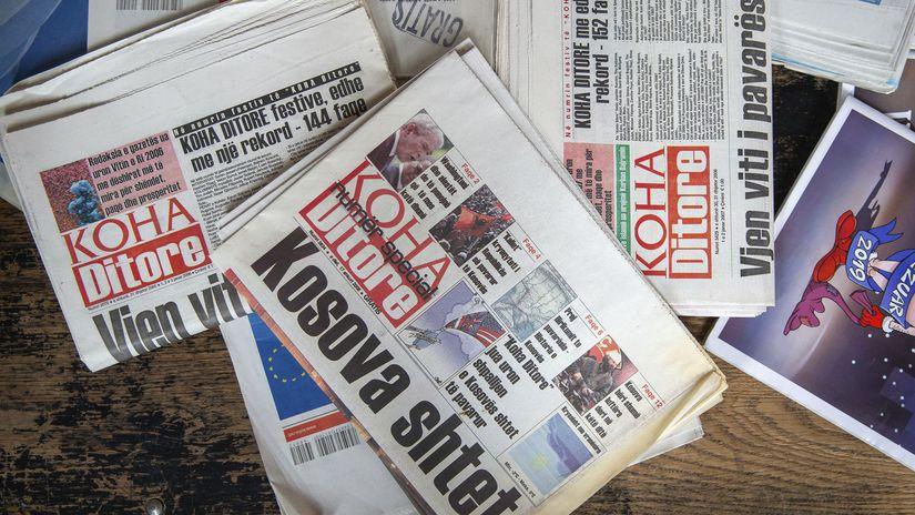 kosovo, noviny