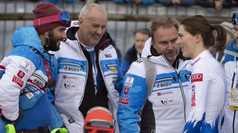 Slovinsko Maribor Slalom Ženy Vlha