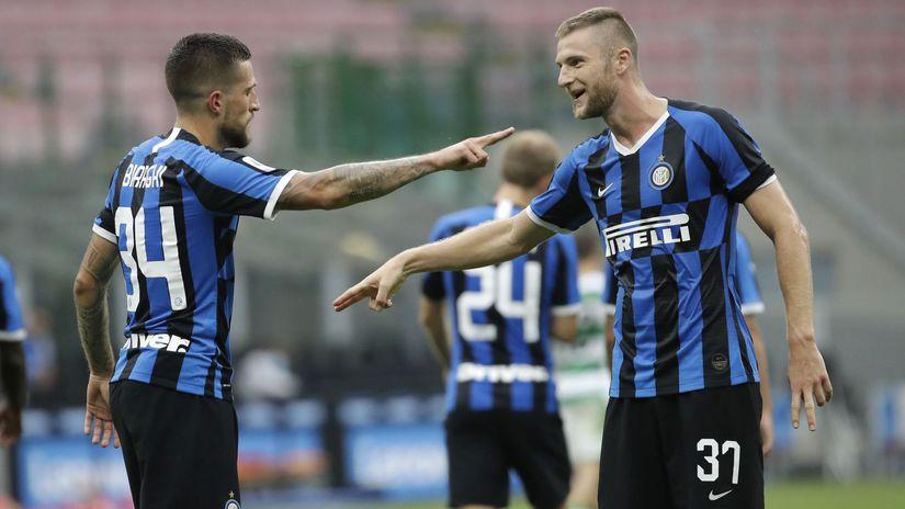 Taliansko Futbal liga Inter Miláno Škriniar