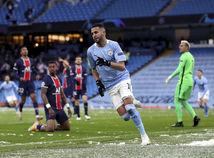 Anglicko futbal LM odveta semifinále Manchester City PSG