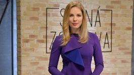 Veronika Cifrova Ostrihonova  moderatorka relacie Silna zostava  vysielanie 6.5.  2