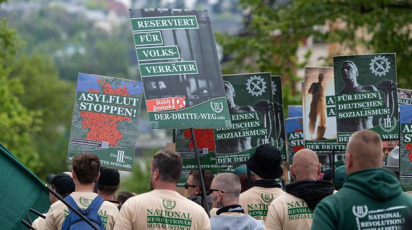 protest, pravica, nemecko