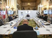 Británia Raab ministri G7 schôdzka