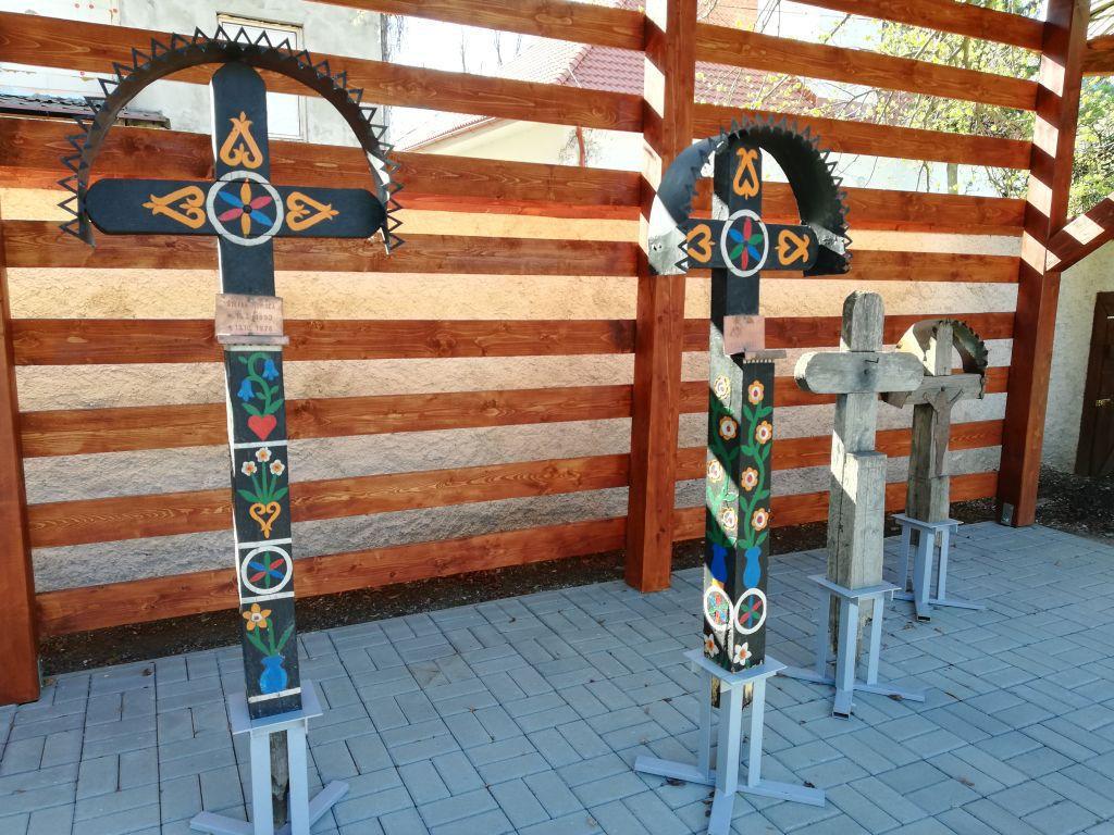 Detva kríž expozícia tradícia múzeum