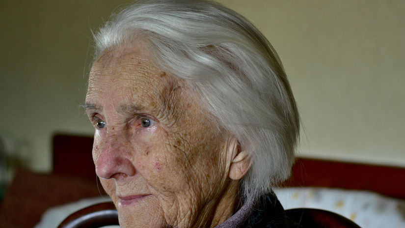 Portrait Of A Hundred Years Old Woman,...