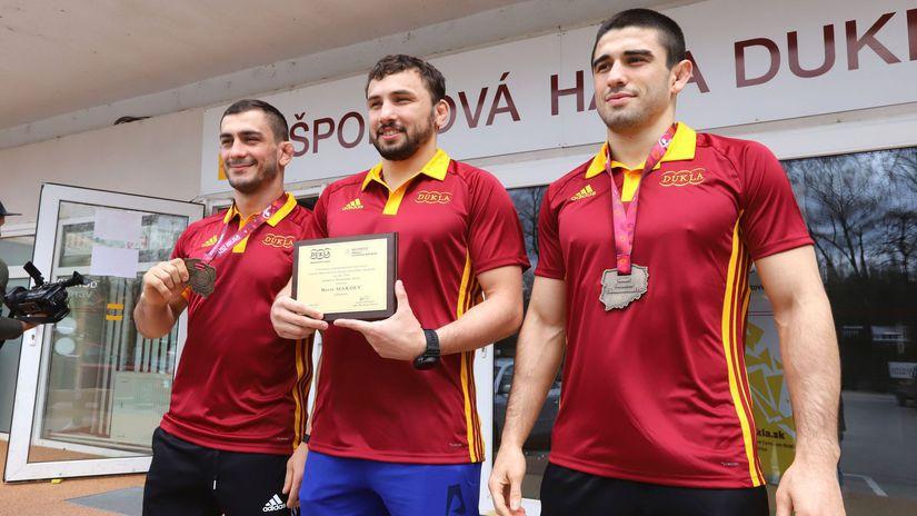 Tajmuraz Salkazanov, Boris Makojev, Achsarbek...
