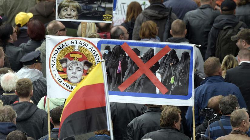 Nemecko zjednotenie oslavy Merkelová