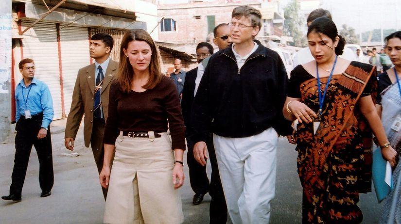 Bill Gates, Melinda Gatesová, cestovanie,...