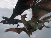 hra o tróny, game of thrones, draky,