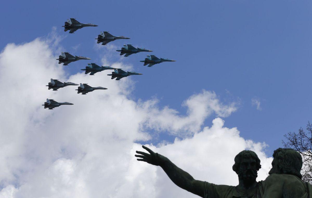 Rusko, letectvo