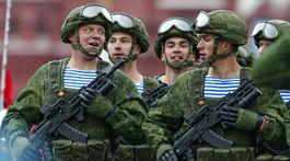 Rusko, prehliadka, vojaci