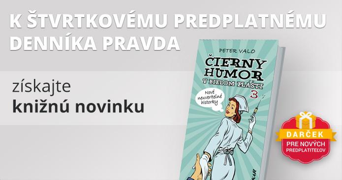 Štvrtkové predplatné s knihou Čierny humor v bielom plášti